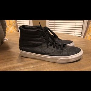 Leather vans size 13
